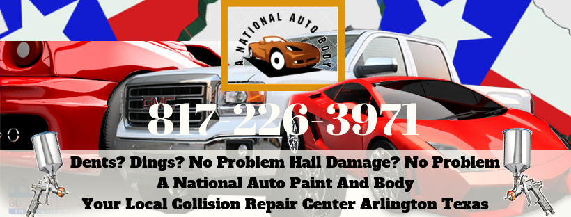 Auto Dents And Ding Repairs Arlington Texas